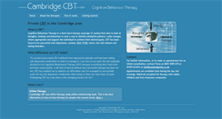 Preview of cambridgecbt.co.uk