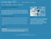 Tablet Preview of cambridgecbt.co.uk